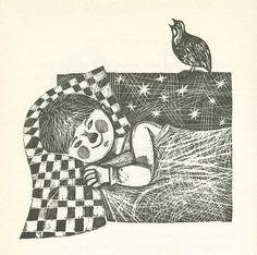 Petja in der krähenschule, 1969. Story by E.I. Tscharuschin,Pictures by Herbert Lentz.