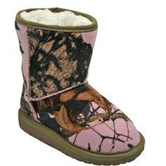 2a5b1d255893a Toddler/Kids Australian Style Boots with Mossy Oak(r) Licensed Patterns # DAWGS