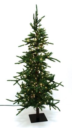 7.5' Pre-Lit Norfolk Pine Artificial Christmas Tree - Clear Lights ...
