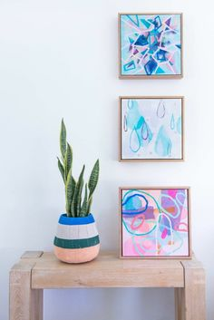 Creating original art, prints & private commissions for an international market. Art Projects For Adults, Diy Art Projects, Diy Artwork, Diy Wall Art, Greenhouse Interiors, Gallery Wall Frames, Pastel Art, Framed Art, Original Art