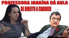 Professora JANAÍNA dá AULA de DIREITO a CARDOZO e deixa o Advogado de Di...