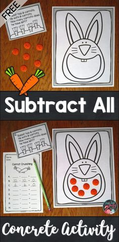 Need a free activity for teaching the concepts of subtracting all or none from a given number? Read this blog post to find just such a resource that's ideal for kindergarten, first, and second grade math.
