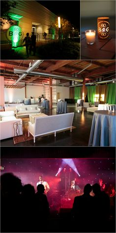 Custom branded 60th birthday party in Dallas, Texas // The Latest Trends in Luxury Birthday Party Planning