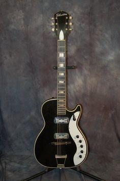 Silvertone Jupiter 1423 Pro Setup Original Case 1962 Black Sparkle | Reverb.com..Give us a call. Lawman Guitars. 515-864-6136
