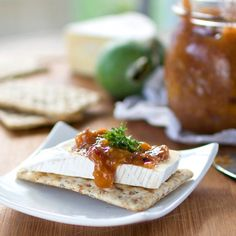 Tangy Feijoa Chutney - the perfect partner to any number of dishes.