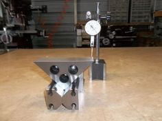 """45-45-90 Angle Plates by rossbotics -- My recent post was a pair of 30-60-90 degree angle plates, I had mentioned in that post I was going to make a couple of matched 45-45-90 plates as well, So I did There made fro 0-1 tool steel hardened an matched ground, there ground within .0002"""" all over. The plates measure appr. .750"""" X 3.560"""" X 3.560"""" Below are some photos of the plates Thanks For Looking And Happy Machining..."""
