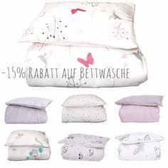 Eine schöne Rabattaktion 😍 Vom 07.07.-10.07.2016 gibt es im Shop -15% Rabatt auf die gesamte Bettwäsche-Kollektion!!! Natürlich solange der Vorrat reicht. ➡️➡️➡️www.effii-kids.de