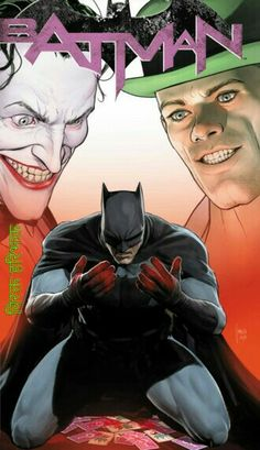Jokes And Riddles, Riddler, Be Natural, Fan Page, Gotham, The Darkest, Battle, Joker, Cartoon