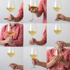 Which way is the 'proper' way to hold a wine glass? The truth is you can hold a wine glass any way you like however, some social situations can't be taken lightly. See how to hold a wine glass like a true connoisseur. Red Wine Storage Temperature, Comment Dresser Une Table, Wine Glass Storage, Wine Facts, Wine Folly, Dining Etiquette, Etiquette And Manners, Wine Education, Table Manners