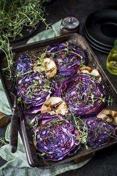 Salad Recipes, Keto Recipes, Cooking Recipes, Food Inspiration, Side Dishes, Cabbage, Salads, Recipies, Good Food