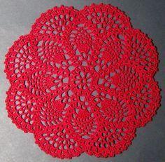 Crochet Pattern For Beginners Crochet Doily Handmade - Crochet Doily Rug, Crochet Dollies, Thread Crochet, Filet Crochet, Crochet Gifts, Diy Crochet, Crochet Flowers, Free Crochet Doily Patterns, Tatting Patterns
