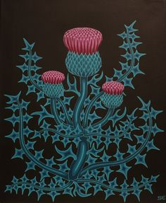 Thistle by sofiaeinarsson.deviantart.com