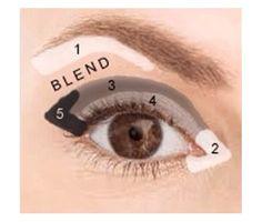 Easy Everyday Eyeshadow Tutorial for Hooded, Mature, Crepey Eyelids - new_make_up_pintennium Eyeshadow Basics, Blending Eyeshadow, How To Apply Eyeshadow, How To Apply Makeup, Eyeshadow Steps, Applying Eyeshadow, Eyeshadow Techniques, Eyeshadow Palette, Simple Eyeshadow