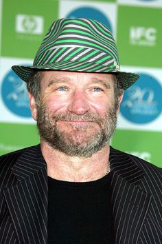 Robin Williams :  at the Independent Spirit Awards in Los Angeles in 2005.A Life In Pictures