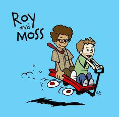 peabody's place: Roy & Moss