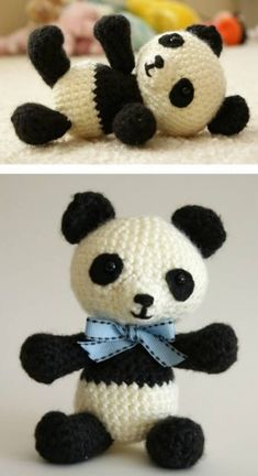 We've put together the cutest collection of Panda Crochet Patterns. Be sure to check out all the adorable ideas now. Lots of Free Patterns.