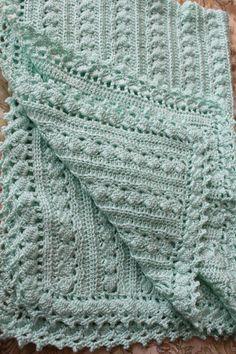 Bambino coperta crochet 3 formati cavo design super filati