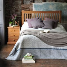 Georgian Oak 4ft 6 Double Bed 605.009 Quality wooden furniture at great low prices from PineSolutions.co.uk. Get Free Delivery and Exchanges on all orders. http://www.MightGet.com/january-2017-11/georgian-oak-4ft-6-double-bed-605-009.asp