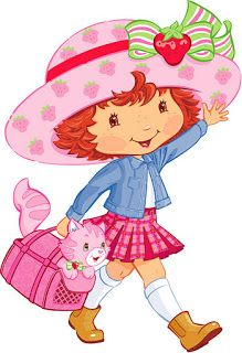 Strawberry Shortcake - Full Kit with frames for invitations, labels for goodies, souvenirs and pictures! | Making Our Party