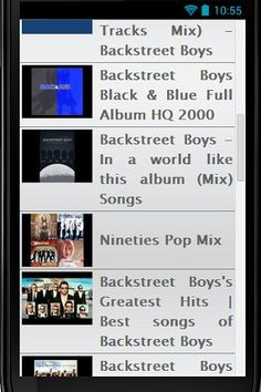 """The Backstreet Boys are an American vocal harmony group, formed in Orlando, Florida in 1993. The group consists of A. J. McLean, Howie Dorough, Nick Carter, Kevin Richardson, and Brian Littrell.<p>DISCLAIMER: This is an unofficial app and the purpose of this app is for entertainment only. This application complies with US Copyright law guidelines of """"fair use"""". All rights reserved by respective content owners. The content provided in this app is hosted by YouTube and is available in public…"""