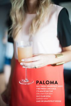 paloma drink - cocktail - meg biram