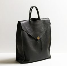 Image of Leather Tote Bag by P.A.P.