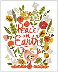 CARDS :: BOXED NOTES & INVITATIONS :: holiday :: Peace on Earth - Ecojot - eco savvy paper products