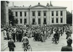 1943, nov. Oslo University. 1200 students arrested