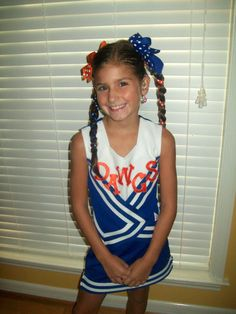 Ribbon braids! Just braid the hair in with ribbon.