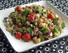 Cooking with Corey: Recipe #293: Bulghur Salad with Walnuts, Fresh Vegetables, & Herbs