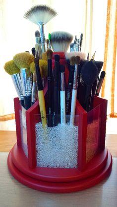 My DIY brush holder!!