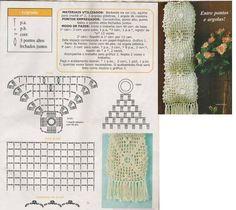Artemaniacriar: Porta Papel Higiênico em Crochê Crochet Flower Tutorial, Crochet Flowers, Crochet Potholders, Crochet Hats, Crochet Diagram, Crochet Patterns, Diy Toilet Paper Holder, Crochet Necklace Pattern, Crochet Home Decor