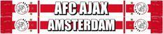 Ben jij een echte fan van Ajax? Dan kan deze sjaal echt niet ontbreken! Deze sjaal houd je lekker warm en je laat iedereen zien dat jij voor de mooie club Ajax Amsterdam staat!   Afmeting: volgt later.. - Sjaal ajax wit/rood/wit AFC