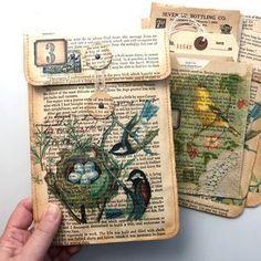 Mixed Media Layered Canvas: Paper Art Collage Blog Hop | Rebekah Meier Designs