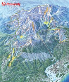 Heavenly Ski Resort Map| South Lake Tahoe Ski Map | Official Heavenly® | SkiHeavenly.com...Been there...done that!