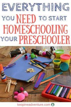 Preschool Homeschool Supplies that You Need - Home Schooling İdeas Movie 43, Preschool Supplies, Preschool At Home, Baby Supplies, Infant Activities, Preschool Activities, Preschool Learning, Ipad Apps, Kids Fever