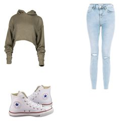 """""""nice day"""" by vaneta on Polyvore featuring Converse"""