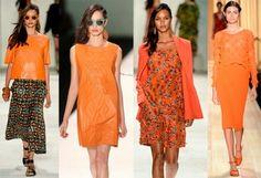 laranja entre as tendências para a Primavera Verão 2015