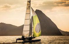 Samuel Albrecht e Isabel Swan estreiam hoje na classe Nacra 17, classe corrida em um barco multicasco com equipe mista que também está estreando nesta Olimpíada. Com uma medalha de bronze, conquist…