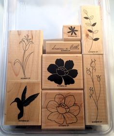 """Stampin Up stamp set, """"Dream A Little"""" by catscardsandcoffee on Etsy"""