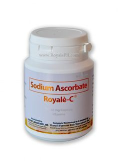Royale-C is a tummy-friendly Vitamin C that is more effective than your typical ascorbic acid. Vitamin C provides a huge boost to the body's immune system and reduces the risk of having chronic diseases. Visit our site for more information about Royale-C.