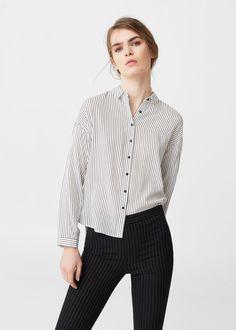 Lejąca koszula | MANGO