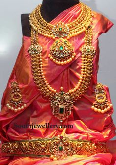 Traditional Uncut Bridal Jewellery Set