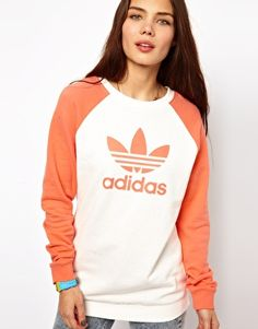 Image 1 of Adidas Fun Sweater Logo Sweater
