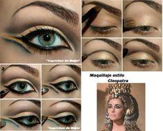 Maquillaje estiloCleopatra