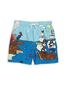 Dolce & Gabbana - Toddler's & Little Boy's Pirate Swim Trunks