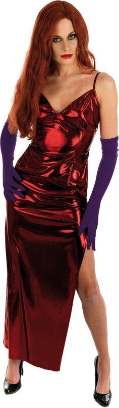 Jessica rabbit plus size fancy dress