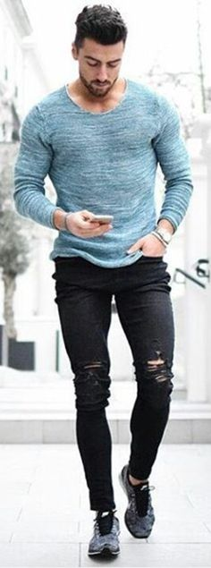 Hot & Trendy Spring-Summer'17 Street Looks! Follow rickysturn/mens-casual for the latest Men's Casual Trends. Hot on Instagram! 1,418 Likes so far. Follow rickysturn/mens-casual #mensoutfitsspring