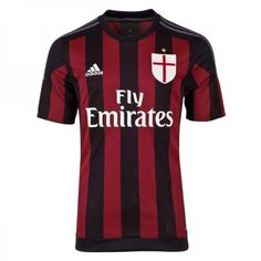 Günstige AC Milan 2015-16 Fußballtrikots Heimtrikot