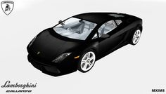 """Lamborghini Gallardo 2010 • 37k Poly • 4 Swatches • Can be found under """"sculptures"""" Download : Simfileshare All credits goes to Fresh-Prince"""